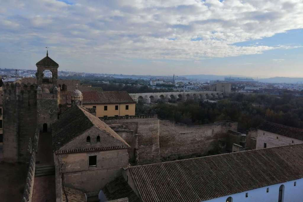 View from the top of Cordoba's Alcazar