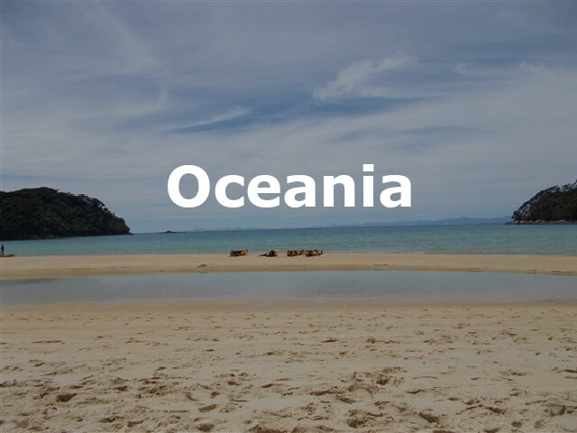 Oceania blog posts header
