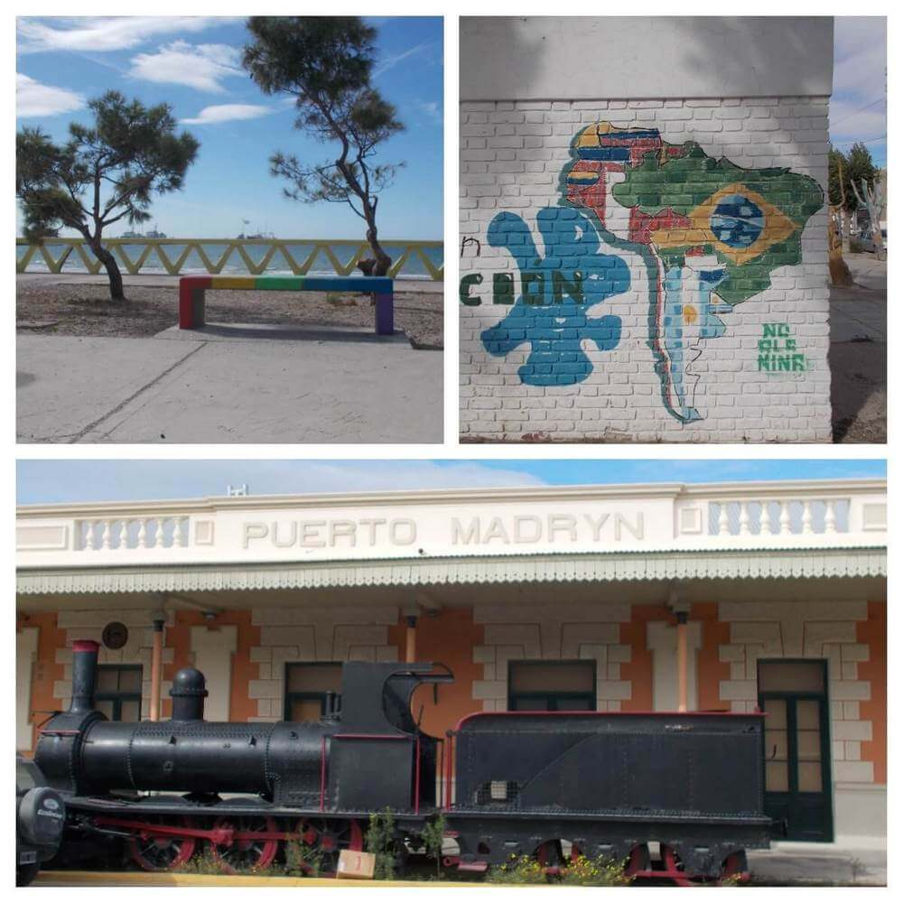 Features of Puerto Madryn including old train station