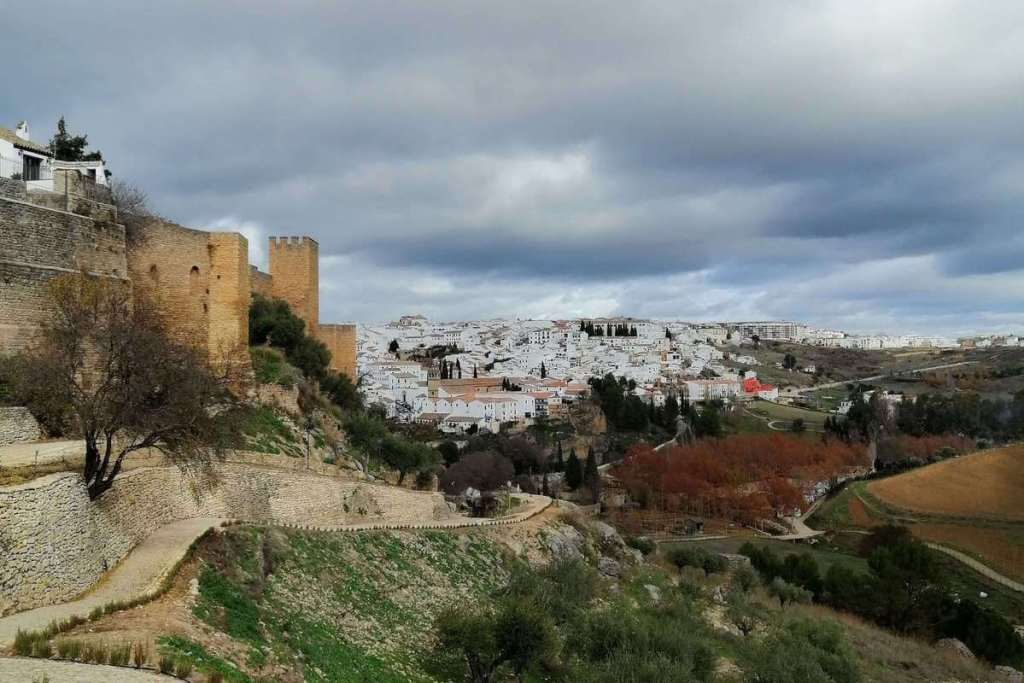 The white houses of Ronda