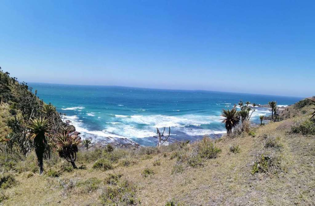 The coast near Coffee Bay on South Africa's Wild Coast