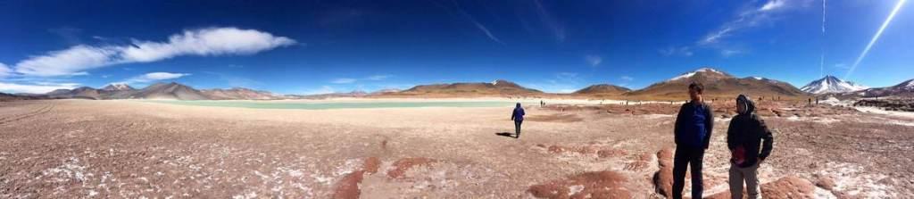 Panoramic photo at Las Piedras Rojas