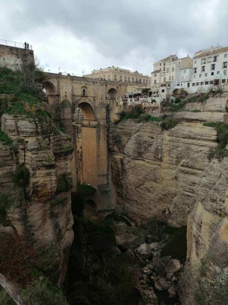 Puente Nuevo from Jardines de Cuenca