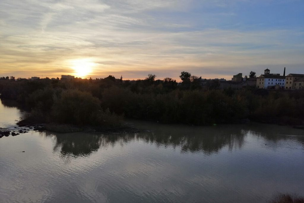 Sunset over the River Guadalquivir