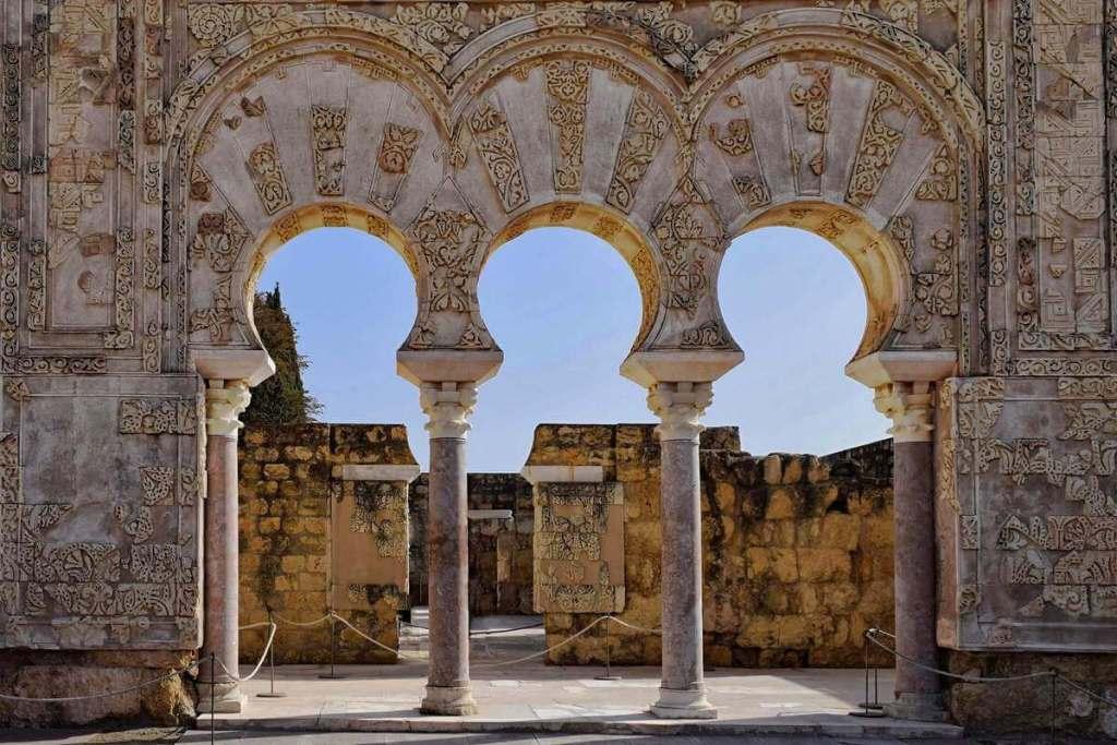 Decorated walls of Medina Azahara