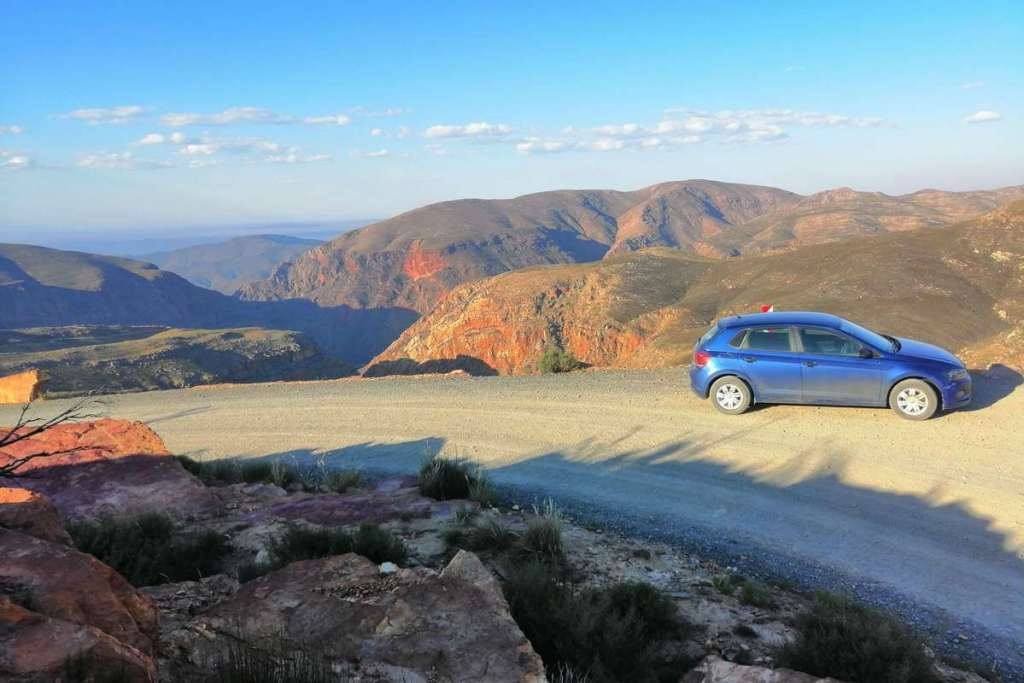 The views from the top of Swartberg Pass