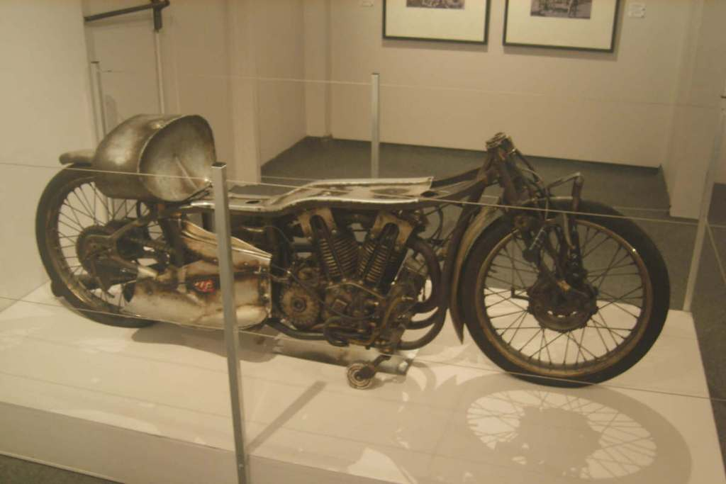 Burt Munro's world land speed record bike in Invercargill