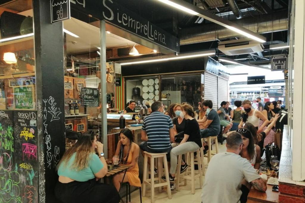Mercado San Fernando in Madrid