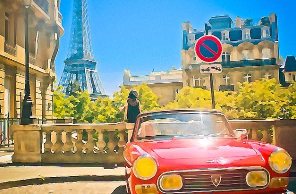 A nice Eiffel view