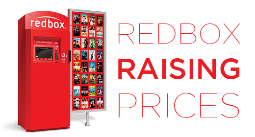 Redbox Raising Prices