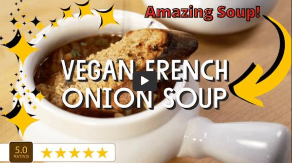 DIY Vegan French Onion Soup