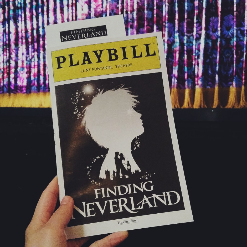 Finding Neverland Broadway Musical