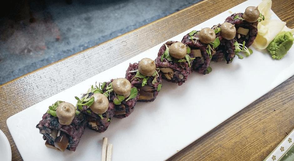 Mighty Mushroom Sushi Roll