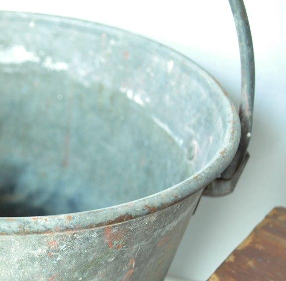 Close up of bucket