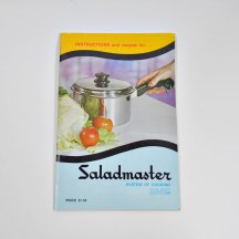 1969 Saladmaster Cookbook