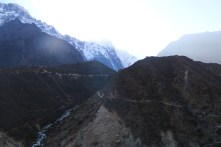 Picture taken back towards Thame