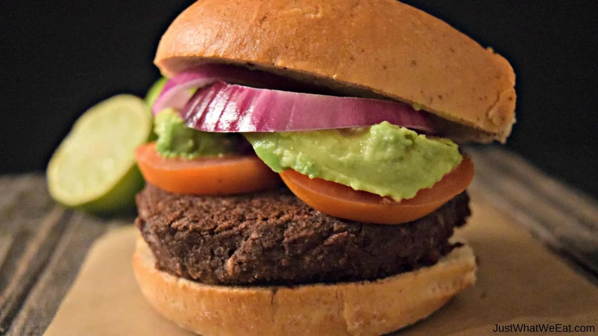 Black Bean Burgers - Gluten Free & Vegan