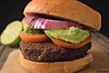 Black Bean Burgers – Gluten Free & Vegan