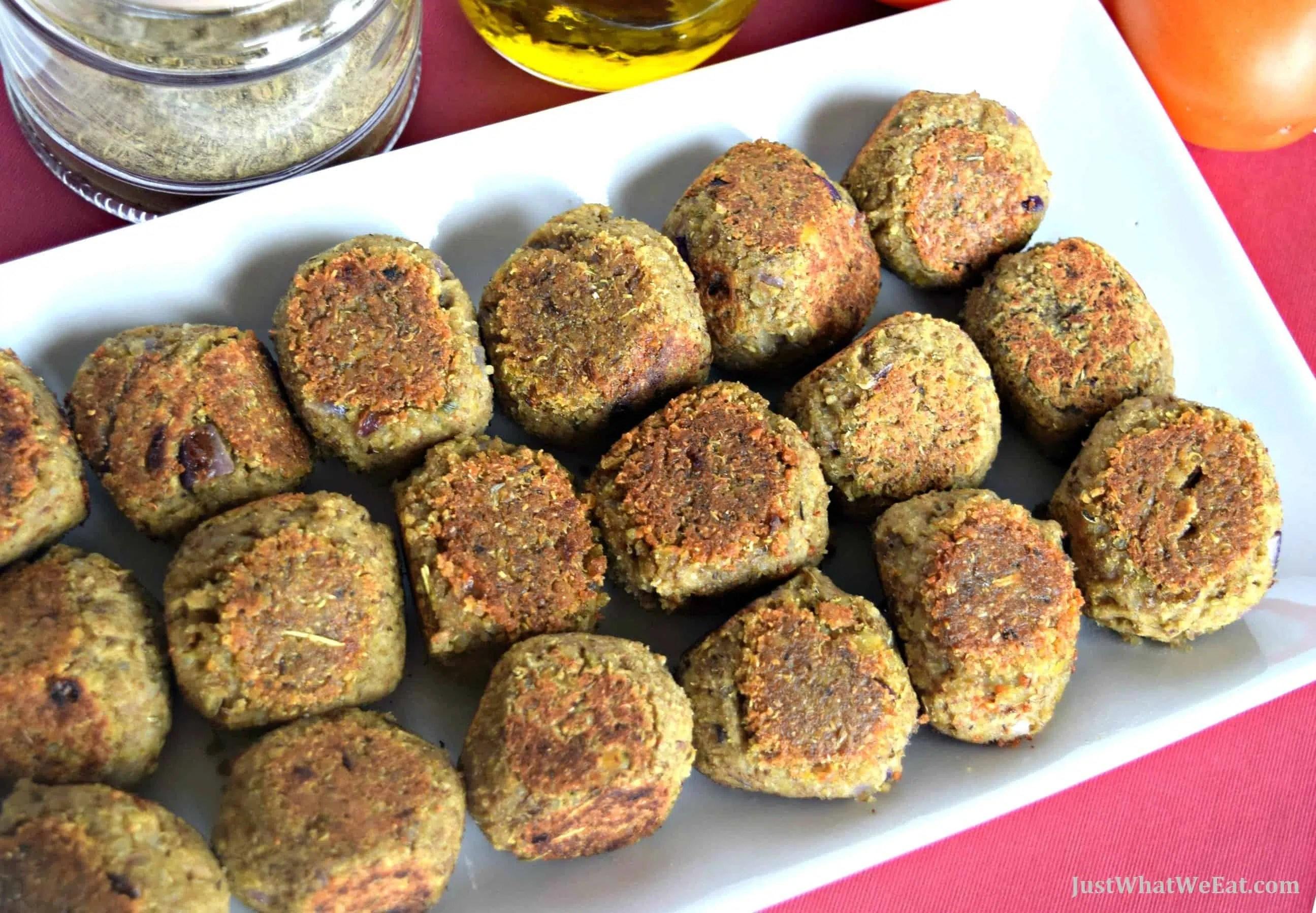 """Lentil & Quinoa """"Meatballs"""""""