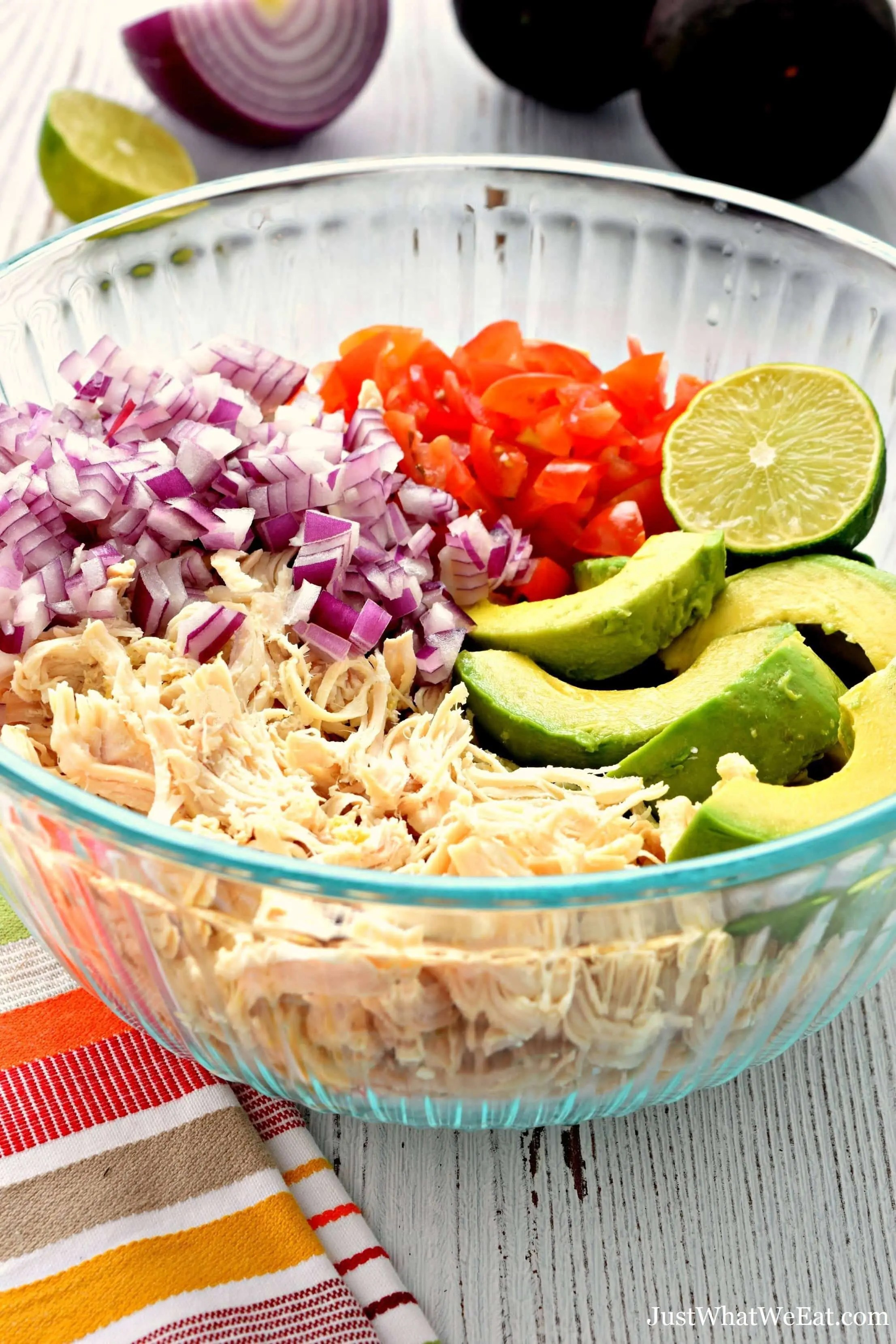 Gluten Free, Dairy Free, and Vegan Avocado Chicken Salad
