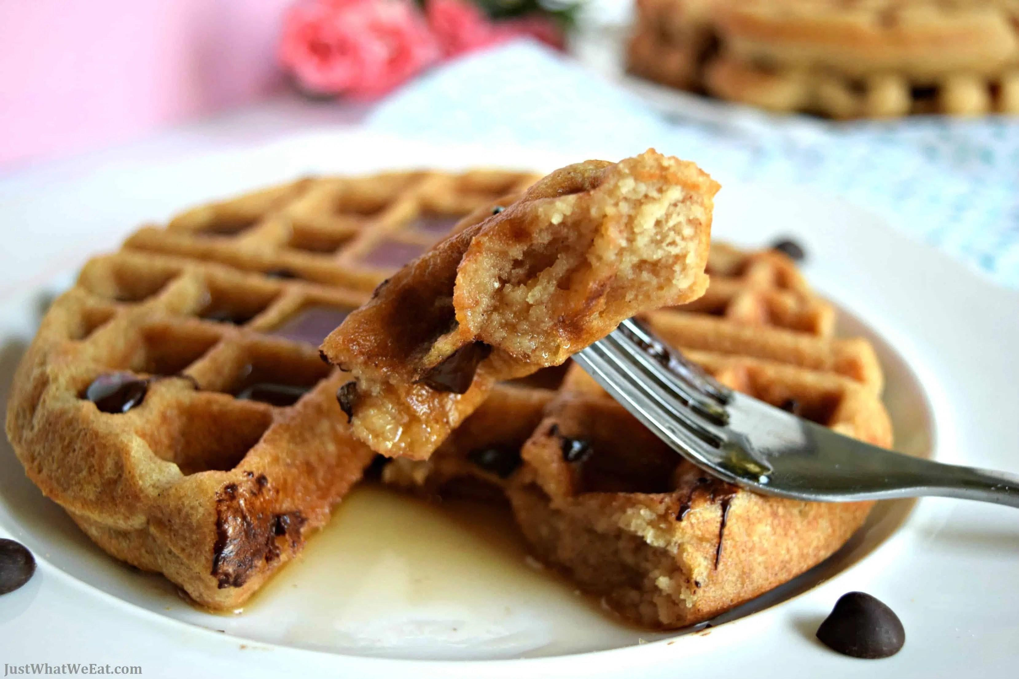 Belgian Waffles - Gluten Free, Vegan, & Refined Sugar Free