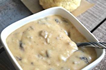 Mushroom Gravy – Gluten Free & Vegan