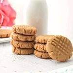 Peanut Butter Cookies - Gluten Free, Vegan, & Refined Sugar Free