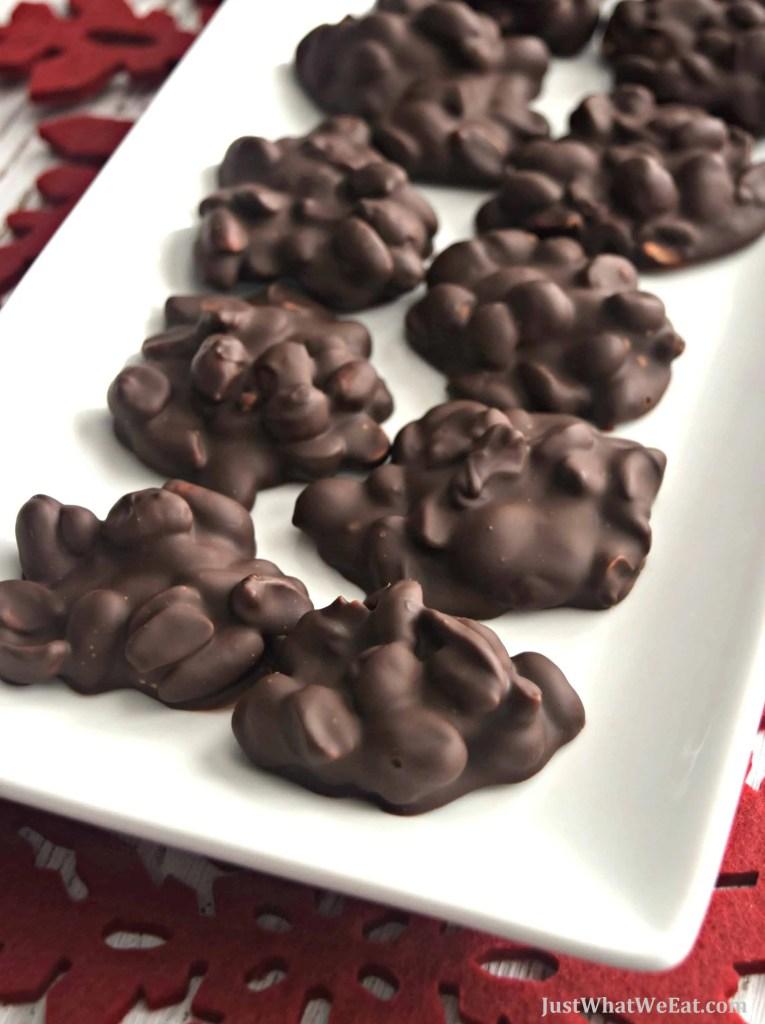 Peanut Clusters - Gluten Free & Vegan