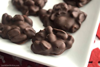 Peanut Butter Peanut Clusters – Gluten Free & Vegan