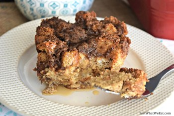 French Toast Casserole - Gluten Free, Dairy Free, & Refined Sugar Free