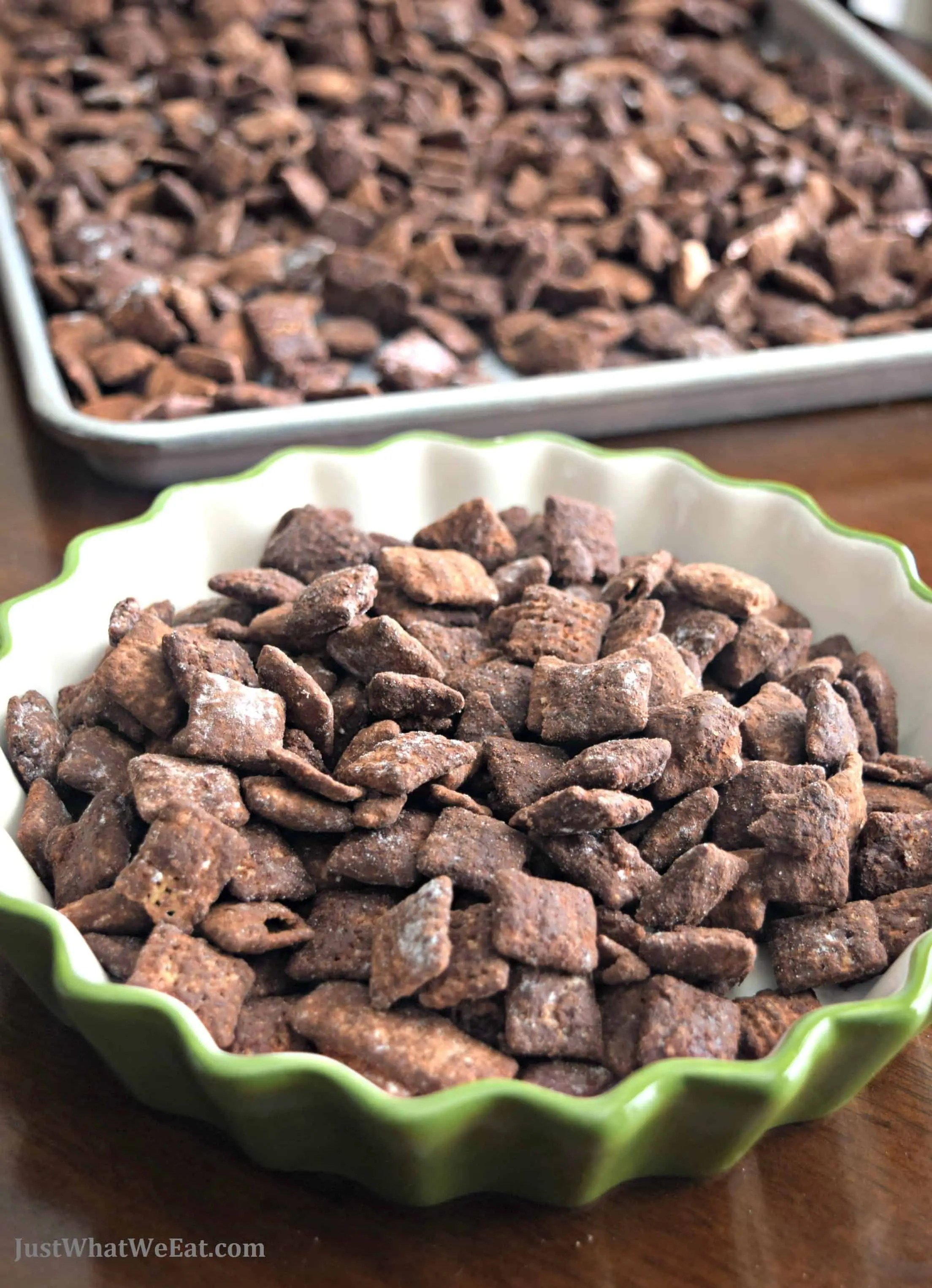 Cocoa Puppy Chow - Gluten Free & Vegan