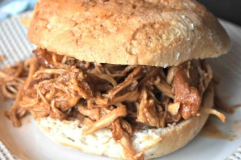 Slow Cooker BBQ Shredded Chicken – Gluten Free & Dairy Free