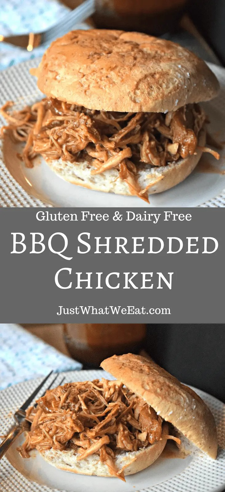 BBQ Shredded Chicken - Gluten Free & Dairy Free