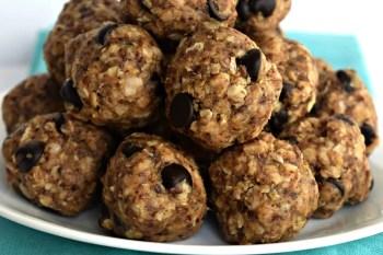 Chocolate Chip Oatmeal Energy Bites – Gluten Free & Dairy Free
