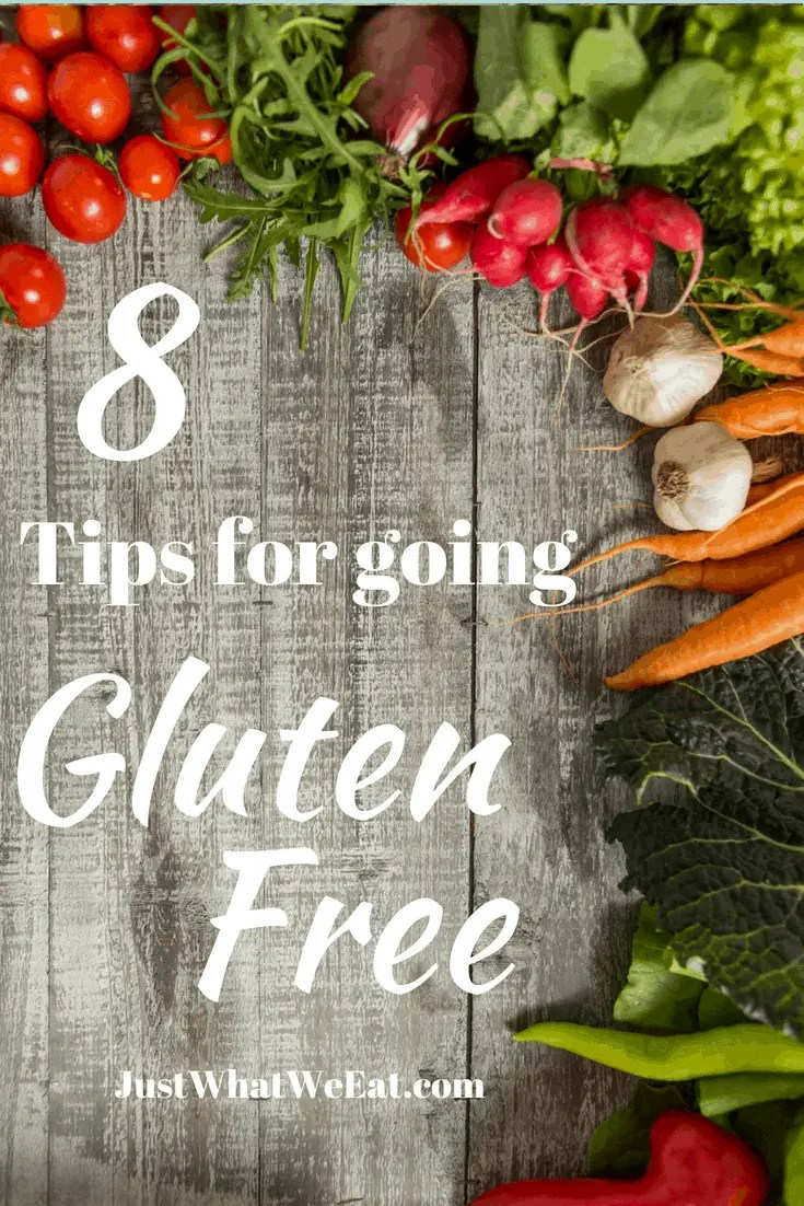 8 Tips for Going Gluten Free