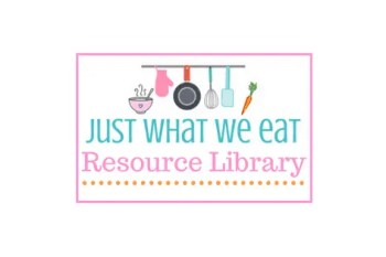 Just What We Eat Free Resource Library