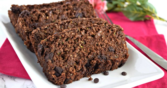 Chocolate Zucchini Bread – Gluten Free & Vegan