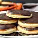 "Coconut Caramel ""Twix"" Cookies - Gluten Free & Vegan"