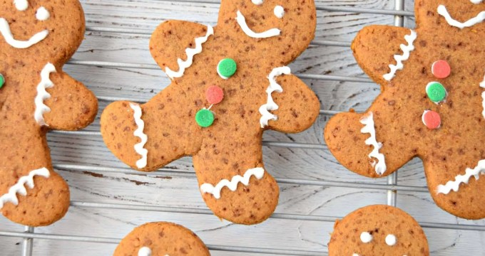 Gingerbread Cookies – Gluten Free and Vegan