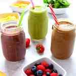 Healthy Smoothie Recipes - Gluten Free, Vegan, Dairy Free, Refined Sugar Free