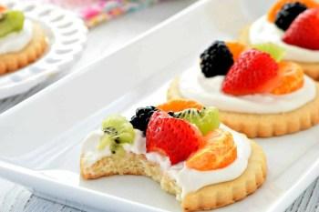 Mini Fruit Pizzas – Gluten Free, Vegan, Dairy Free
