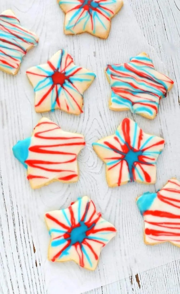 4th Of July Cut Out Cookies Gluten Free Vegan Just What We Eat