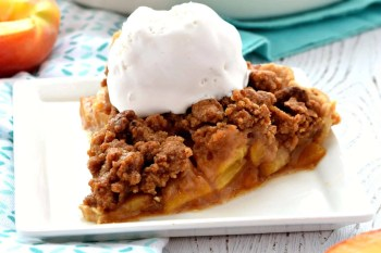 Peach Pie – Gluten Free, Vegan