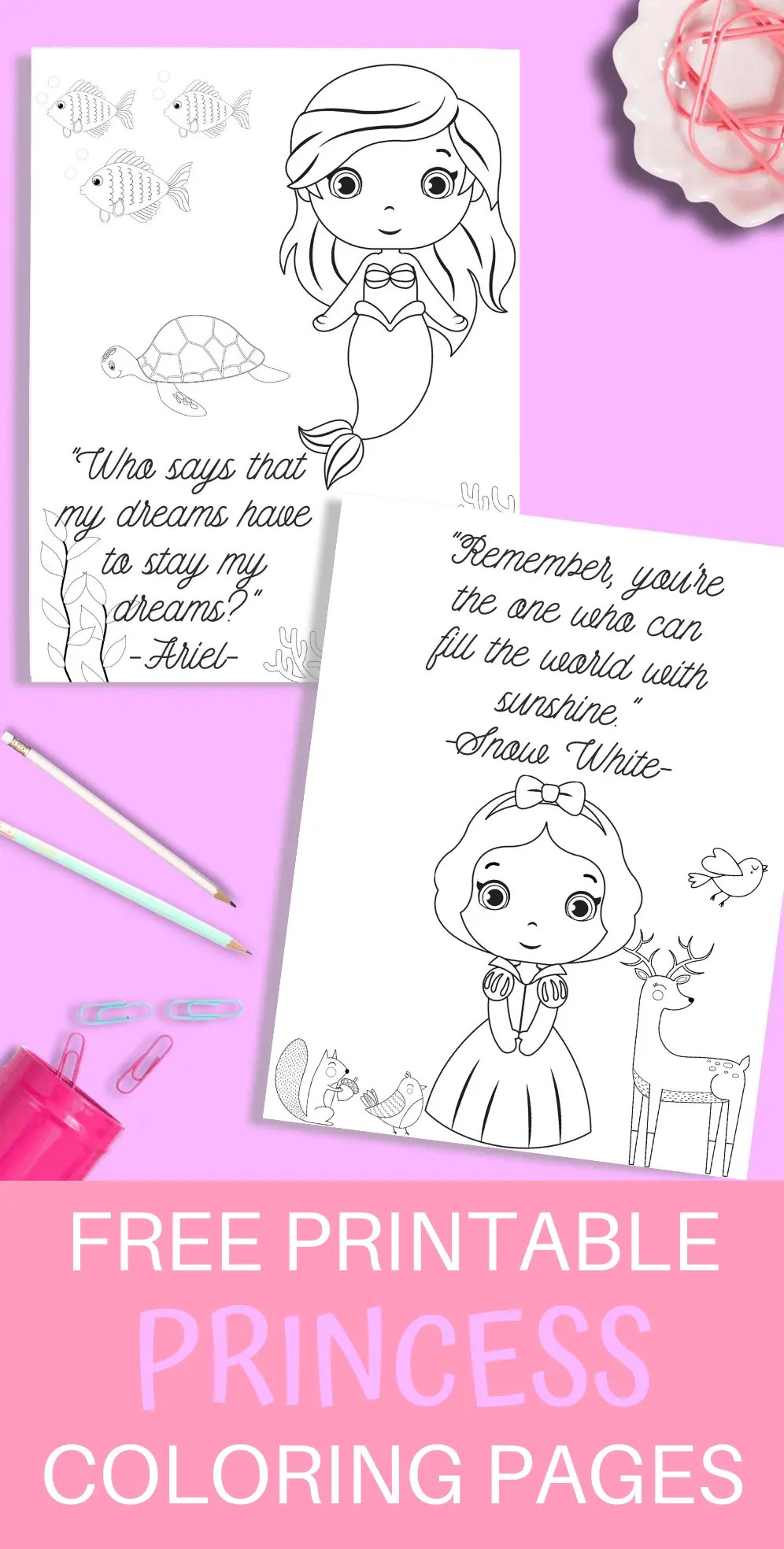 Princess Printable Coloring Pages Just What We Eat