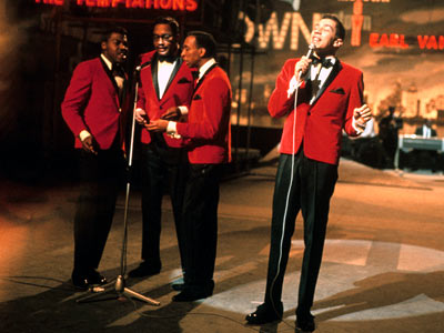 Smokey and the boys at their Butlins, Bognor residency!