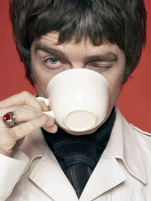 Noel made Liam promise that he would never try the Superglue on the Tea Cup trick again