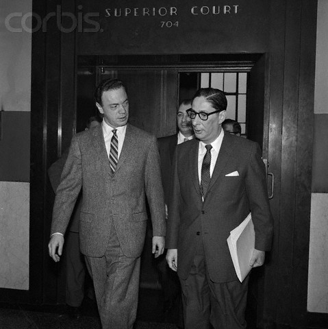 Alan Freed tells his lawyer that perhaps he should have gone to Specsavers!