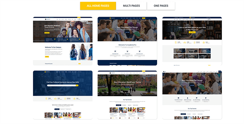best premium education wordpress themes