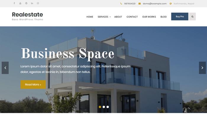 best free business wordpress themes
