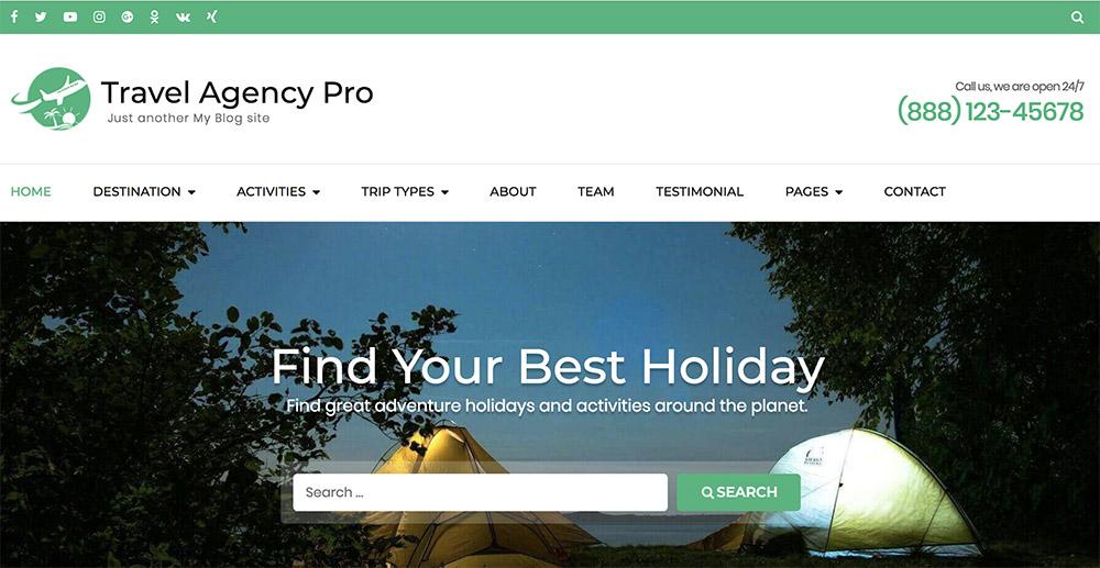 Travel Agency Pro